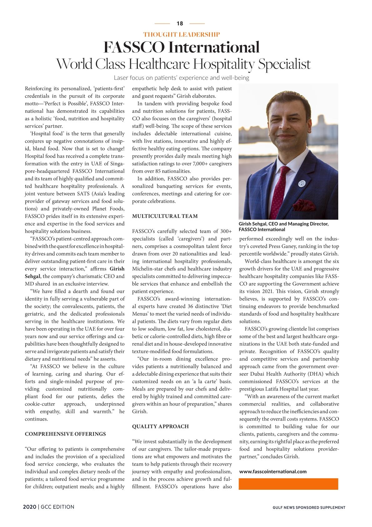 Gulf News - FASSCO